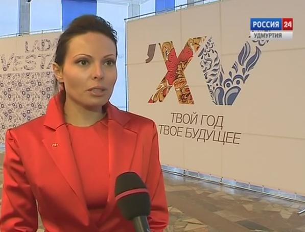 Директор проекта «Lada Vesta» Кристина Дубинина