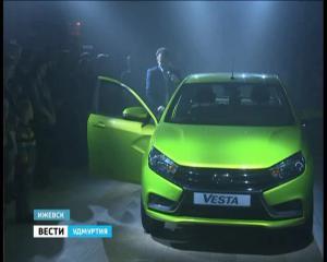 Старт продаж Lada Vesta в Удмуртии