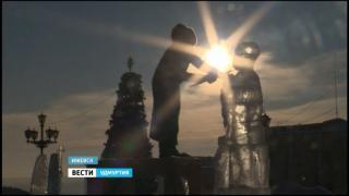 Седьмой ледовый Фестиваль Ангелов и Архангелов в Ижевске начался