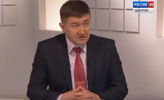 Интервью с министром здравоохранения Удмуртии Алексеем Чуршиным