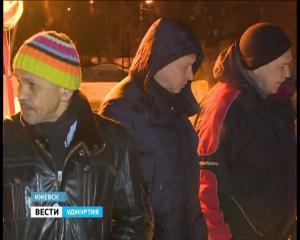 Авария на теплотрассе в городке Металлургов в Ижевске