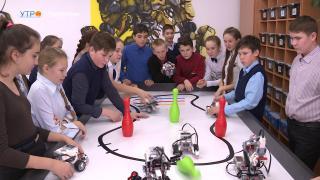Классы робототехники открылись в Балезинском районе