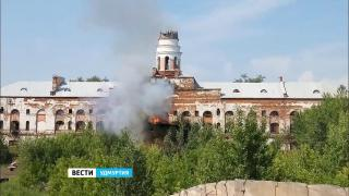 Итоги обследования башни Ижевского оружейного завода после пожара