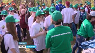 В Ижевске прошел эко-фестиваль «Зеленая Весна»