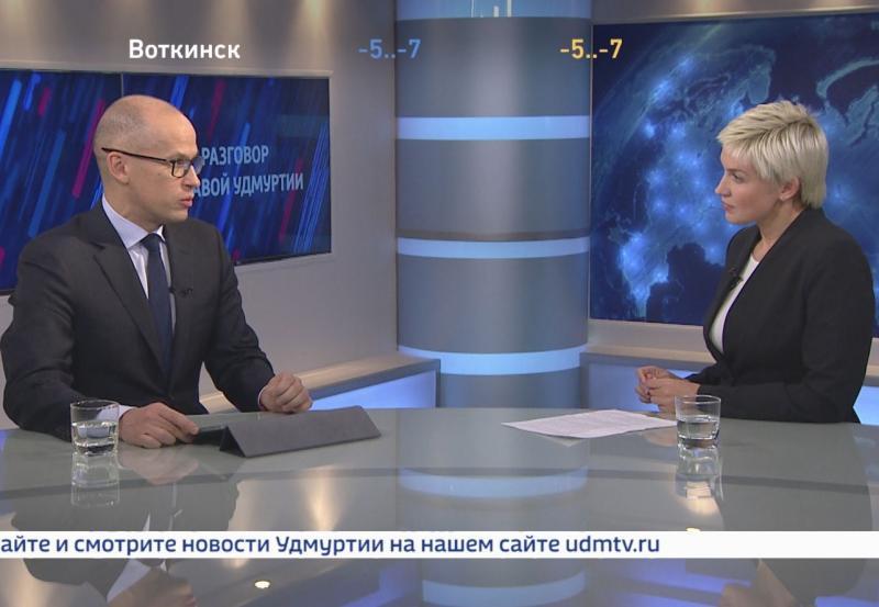 Интервью с главой Удмуртии Александром Бречаловым. Полная версия