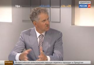 Интервью с членом Совета Федерации РФ Александром Волковым