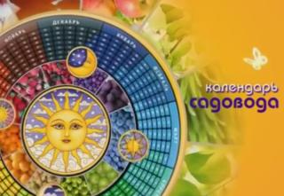 «Календарь садовода» от 01.09.2018