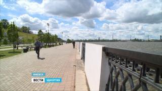 Завершение реконструкции Ижевской набережной оценили в 200 миллионов