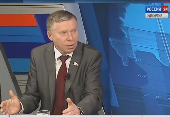 Первый секретарь Удмуртского республиканского отделения КПРФ Владимир Бодров