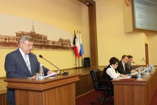 Глава Ижевска отчитался о проделанной работе за 2016 год