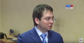 Подход к прессе Андрея Чибиса и Олега Мельниченко по итогам расширенного совещания в Ижевске