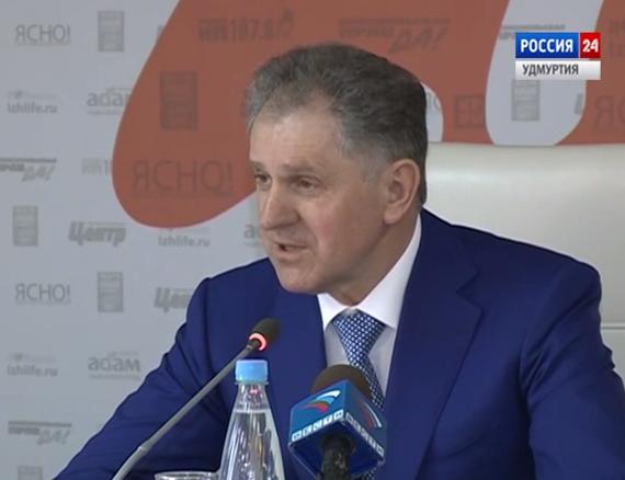 Член Совета Федерации РФ Александр Волков