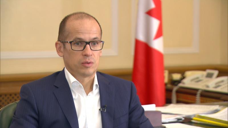 Эксклюзивное интервью врио Главы Удмуртии программе «Вести»