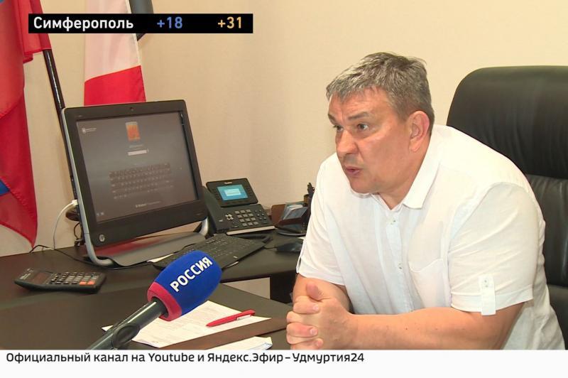 Интервью с министром транспорта и дорожного хозяйства Удмуртии Алексеем Горбачёвым