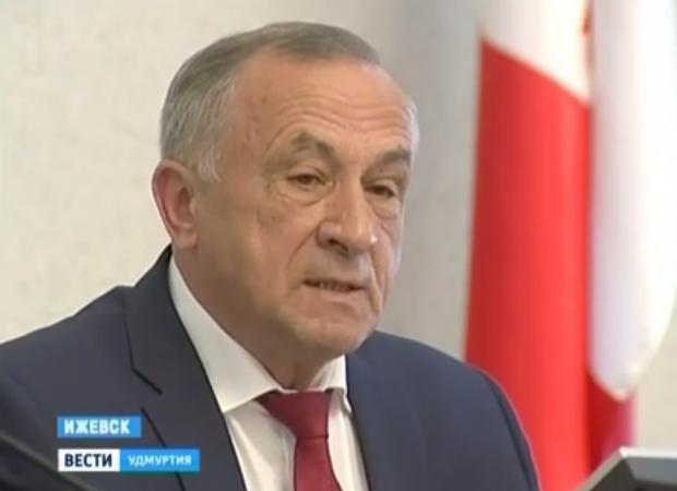 Временно исполняющий обязанности главы Удмуртии Александр Соловьёв