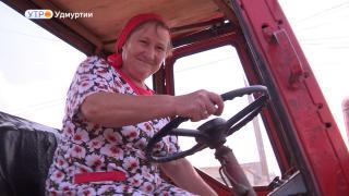 Женщина за рулем железного коня о посвящении профессии тракториста