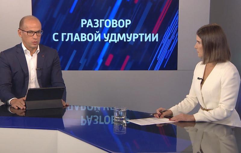Интервью с главой Удмуртии Александром Бречаловым