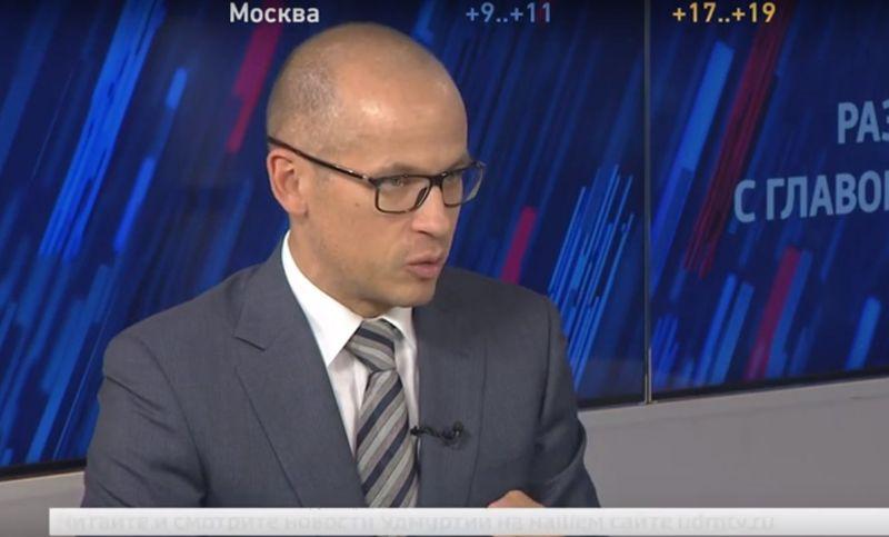 Разговор с главой Удмуртии Александром Бречаловым