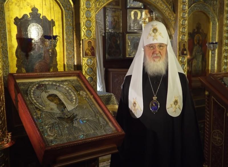 Патриарх Кирилл обратился с посланием к священнослужителям и мирянам в преддверии Пасхи