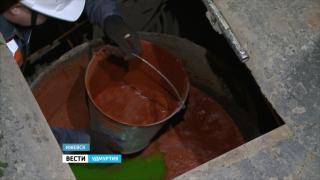 Из кранов жителей Ижевска может потечь зеленая вода