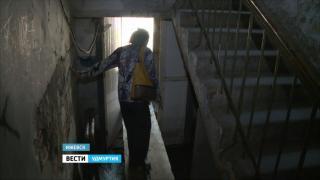 В Ижевске тонет многоквартирный дом