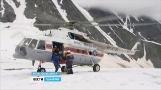 На Алтае спасли туриста из Ижевска