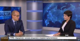 Интервью c врио главы Удмуртии Александром Бречаловым