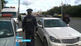 В Удмуртии дорожные инспекторы вышли в рейды