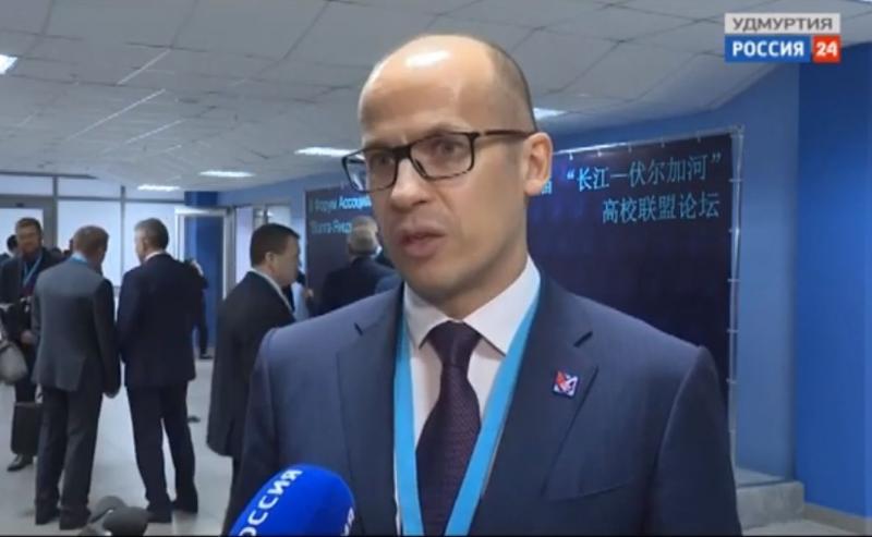 Александр Бречалов о сотрудничестве Удмуртии с КНР